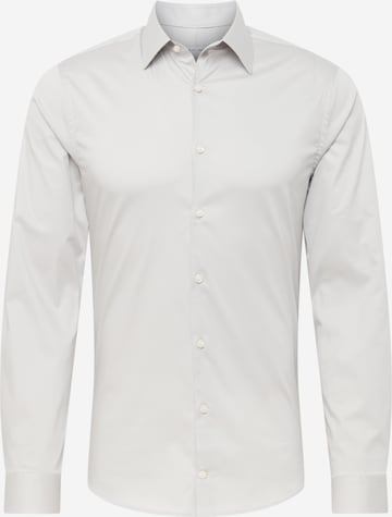 Tiger of Sweden Button Up Shirt 'FILBRODIE' in Grey