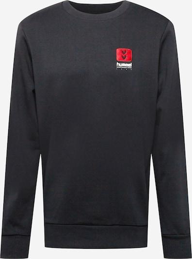 Hummel Sportiska tipa džemperis, krāsa - sarkans / melns / balts, Preces skats