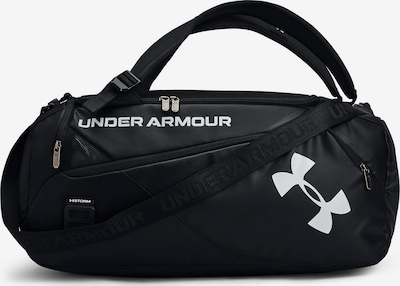 UNDER ARMOUR Sports Bag 'Contain Duo S Duffle 40L' in Black / White, Item view