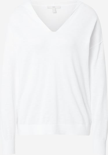 EDC BY ESPRIT Sweater in weiß, Produktansicht