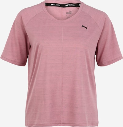PUMA T-shirt fonctionnel 'Studio Relaxed' en rosé / noir, Vue avec produit
