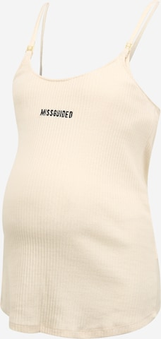 Missguided Maternity Top in Weiß