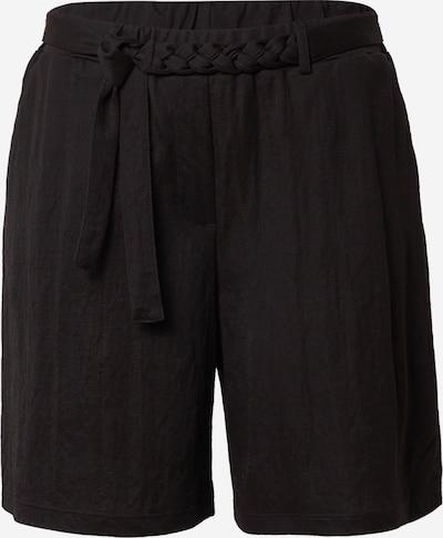COMMA Shorts en noir, Vue avec produit