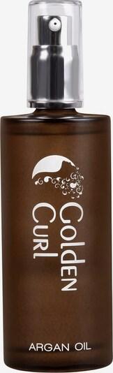 Golden Curl Argan Haaroil in hellgelb, Produktansicht