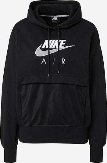 Nike Sportswear Sweater majica u crna / bijela, Pregled proizvoda