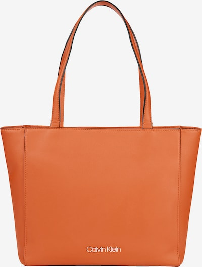 Calvin Klein Shopper in orange, Produktansicht
