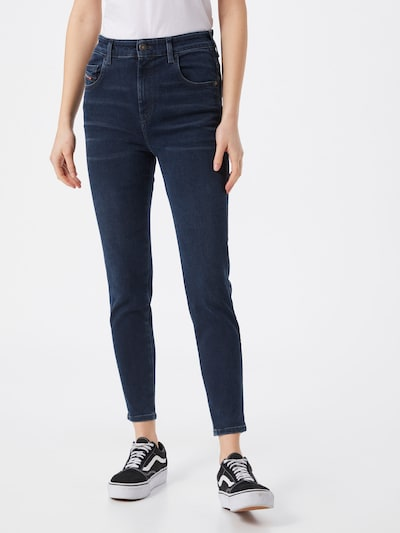DIESEL Jeans 'SLANDY' i blå denim, På modell