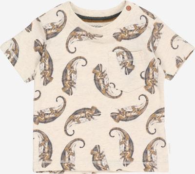 Noppies T-Shirt in beige / orange / schwarz, Produktansicht