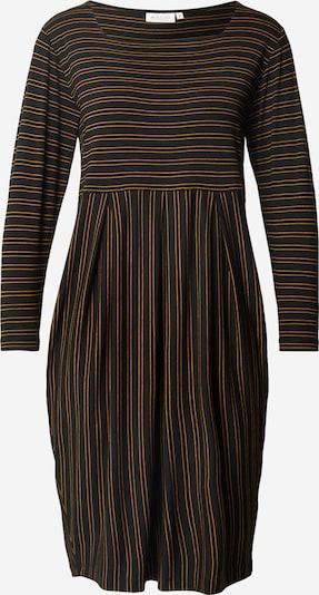 Masai Kleid  'Hope' in dunkelbraun / gelb, Produktansicht