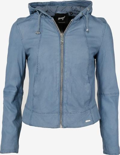 Maze Lederjacke in blau, Produktansicht