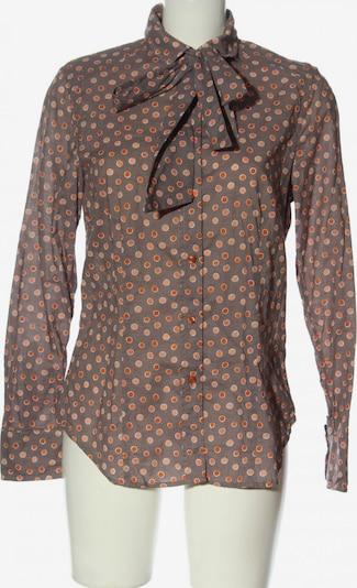 Jacques Britt Langarmhemd in L in hellgrau / hellorange / weiß, Produktansicht