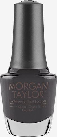 Morgan Taylor Nail Polish 'Grey & Black Collection' in Grey