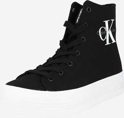 Calvin Klein Zapatillas deportivas altas 'ZABRINA' en gris / negro / blanco, Vista del producto