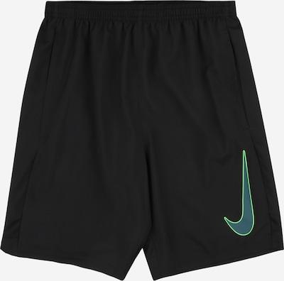 NIKE Sport-Shorts 'Academy' in jade / neongrün / schwarz, Produktansicht