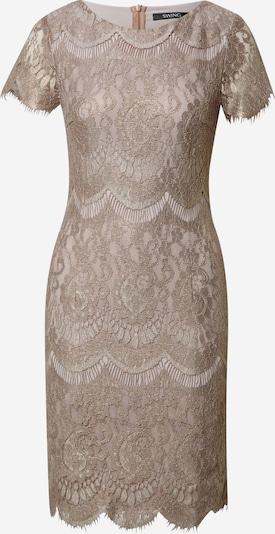 SWING Koktejlové šaty - světle hnědá, Produkt