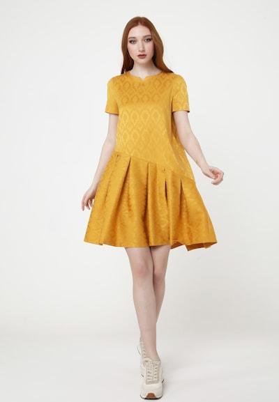 Madam-T Sommerkleid 'DEMETER' in gelb, Modelansicht