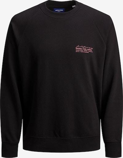 JACK & JONES Sweatshirt 'HOLGER' in rot / schwarz, Produktansicht