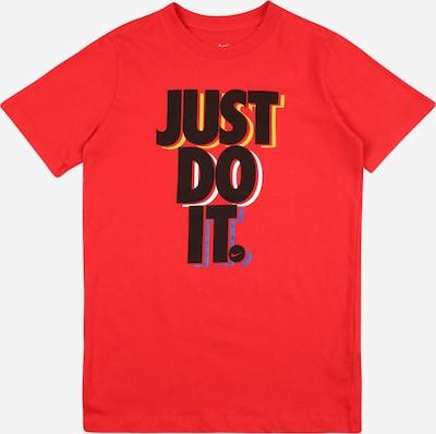 Nike Sportswear Shirt 'STACK' in blau / gelb / rot / schwarz / weiß, Produktansicht