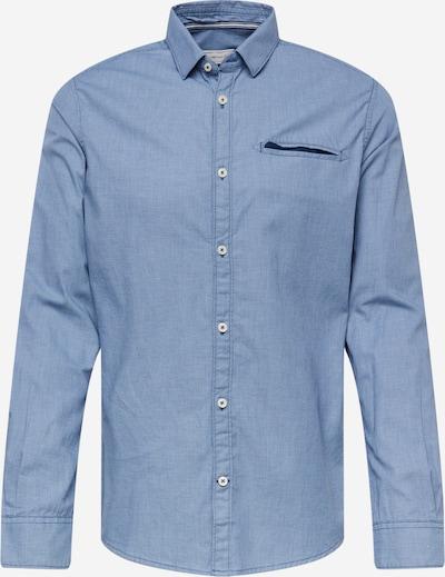 TOM TAILOR Hemd in marine / rauchblau, Produktansicht