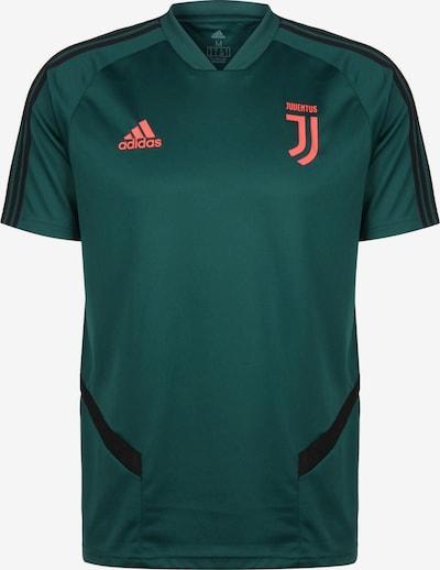ADIDAS PERFORMANCE Trainingsshirt 'Juventus Turin' in smaragd / pastellorange / schwarz, Produktansicht
