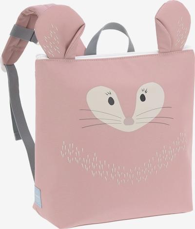 LÄSSIG Rucksack in anthrazit / rosé / weiß, Produktansicht
