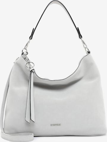 Emily & Noah Handbag ' Elina ' in Grey
