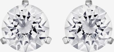 Swarovski Ohrstecker in silber / transparent, Produktansicht