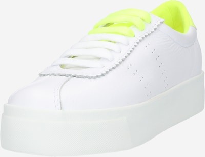 SUPERGA Sneaker in neongelb / weiß, Produktansicht