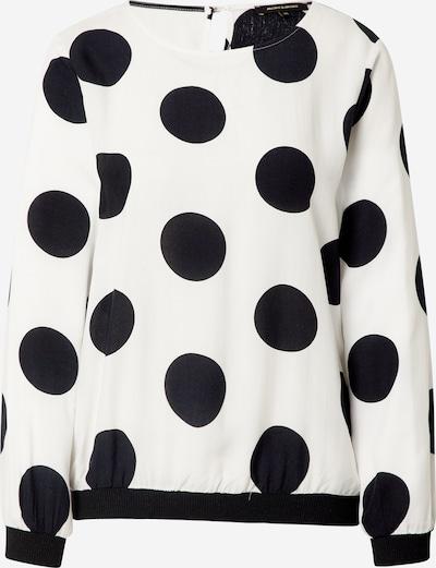 Camicia da donna MORE & MORE di colore nero / bianco, Visualizzazione prodotti