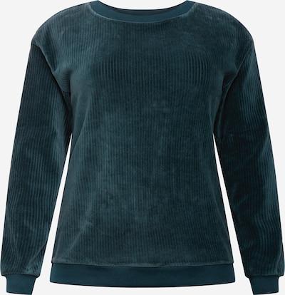 Z-One Sweatshirt 'Eleni' i smaragd, Produktvisning