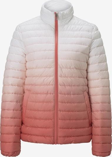TOM TAILOR Between-Season Jacket in Rose / Light pink / White, Item view