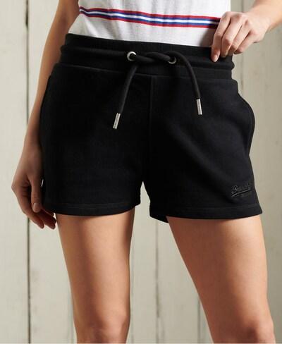Pantaloni Superdry di colore nero, Visualizzazione modelli