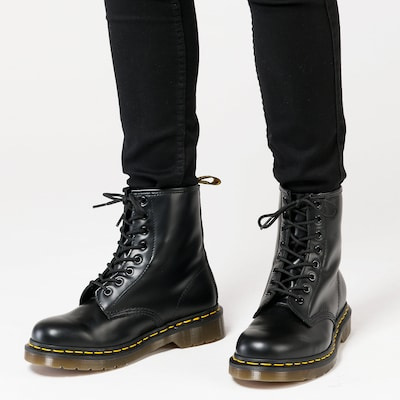 Dr. Martens Lace-up boots in black, View model