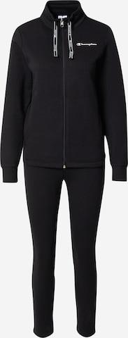 Champion Authentic Athletic Apparel Sweatsuit in Schwarz