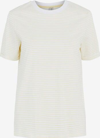 PIECES Μπλουζάκι σε λευκό