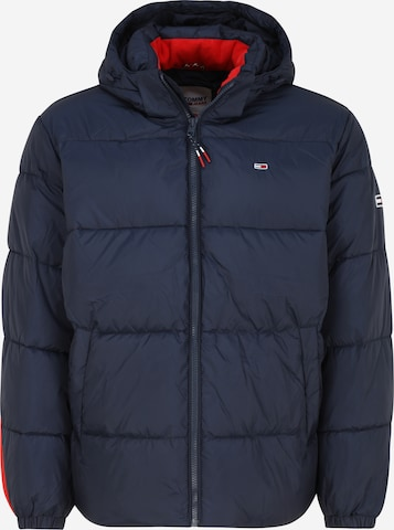 Giacca invernale di Tommy Jeans Plus in blu