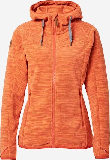 Bergans Veste en polaire fonctionnelle 'Hareid' en orange / orange foncé, Vue avec produit