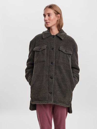 VERO MODA Between-Seasons Coat 'Hope' in Green, View model