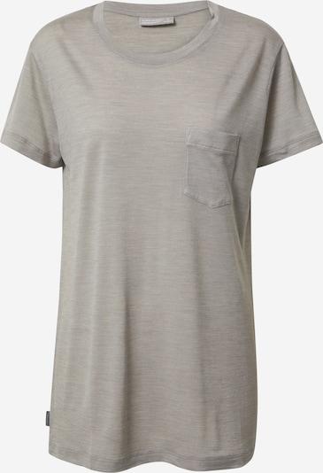 Icebreaker T-shirt fonctionnel 'Drayden' en greige, Vue avec produit