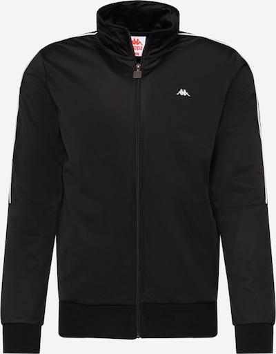 KAPPA Sweatjacke 'Hilk' in schwarz, Produktansicht
