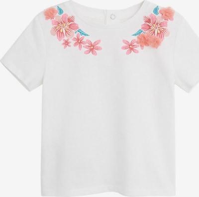 MANGO KIDS Shirt 'LUPE' in weiß, Produktansicht
