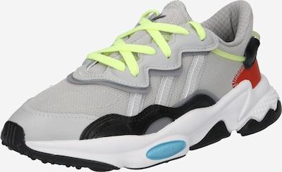 Sneaker low 'Ozweego' ADIDAS ORIGINALS pe galben neon / gri fum / roșu ruginiu / negru, Vizualizare produs