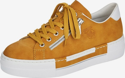 Sneaker low RIEKER pe galben miere / alb, Vizualizare produs