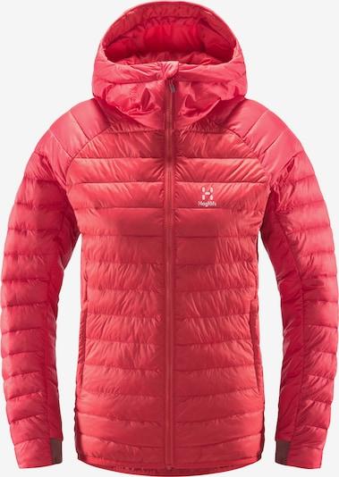 Haglöfs Outdoorjas 'Spire Mimic' in de kleur Rood / Wit, Productweergave