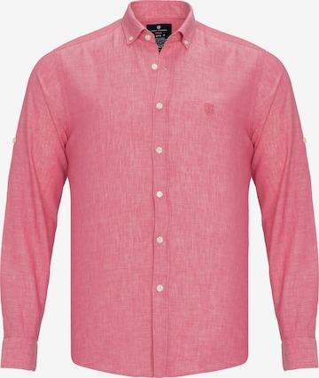 Jimmy Sanders Hemd in Rot
