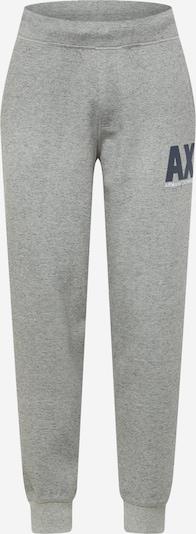 ARMANI EXCHANGE Pantalon en bleu nuit / gris chiné / blanc, Vue avec produit