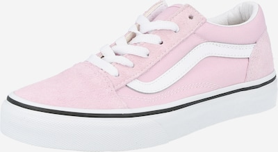 VANS Baskets 'Old Skool' en rose / blanc, Vue avec produit