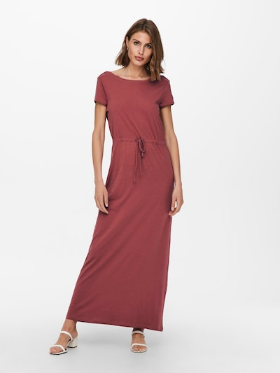 Rochie 'May' ONLY pe roșu pastel, Vizualizare model