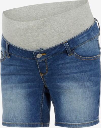 Pieces Maternity Jeans 'Lila' i blå denim / gråmelerad, Produktvy