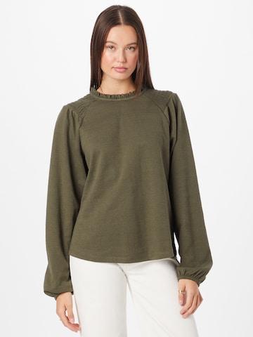 PULZ Jeans Pluus 'AMRA', värv roheline
